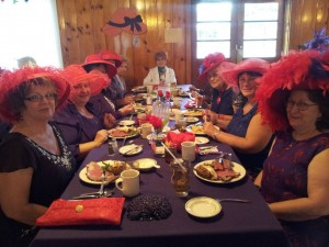 Red Hat Spring Fling At Gavin's Irish Country Inn