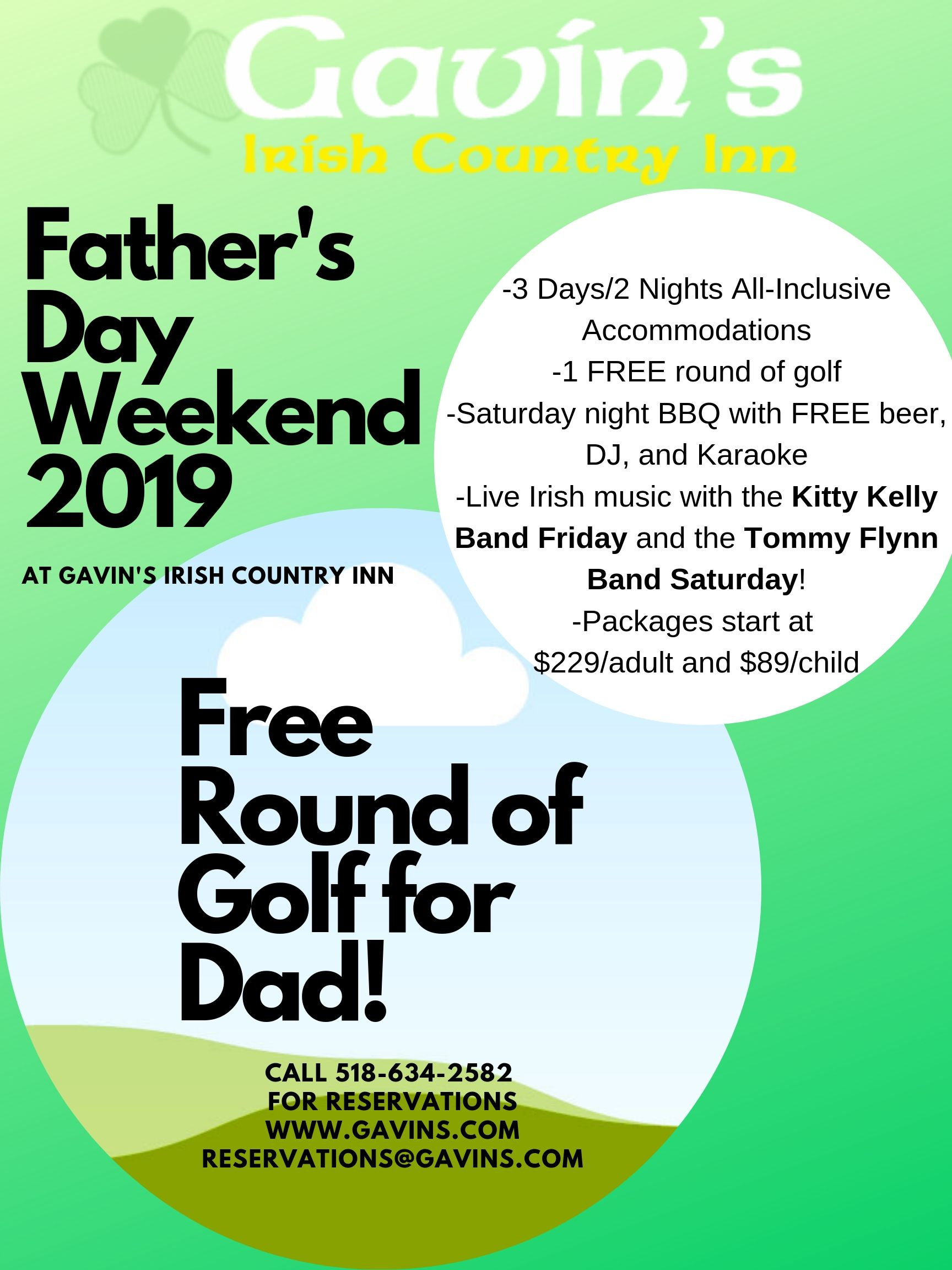 Father's Day Weekend 2019