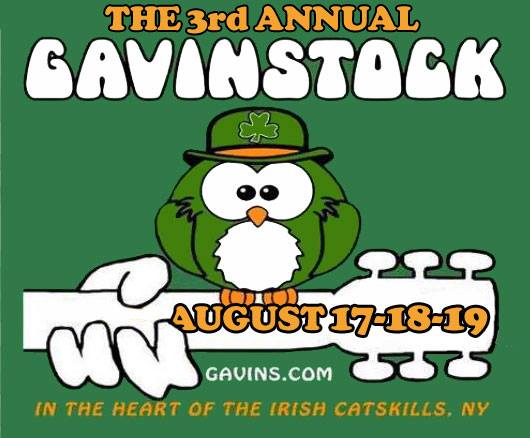 2018 Gavinstock with Shilelagh Law and  10+Irish Bands!