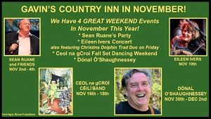 Veterans Weekend with Eileen Ivers LIVE 11/10 and Christina Dolphin 11/9