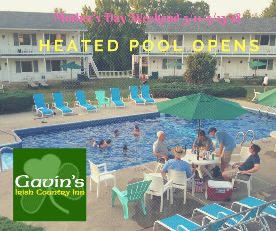 Outdoor Heated Pool with Awning is OPEN daily!