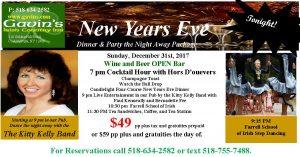 New Years Eve Dinner and Party @ Gavin's Irish Country Inn