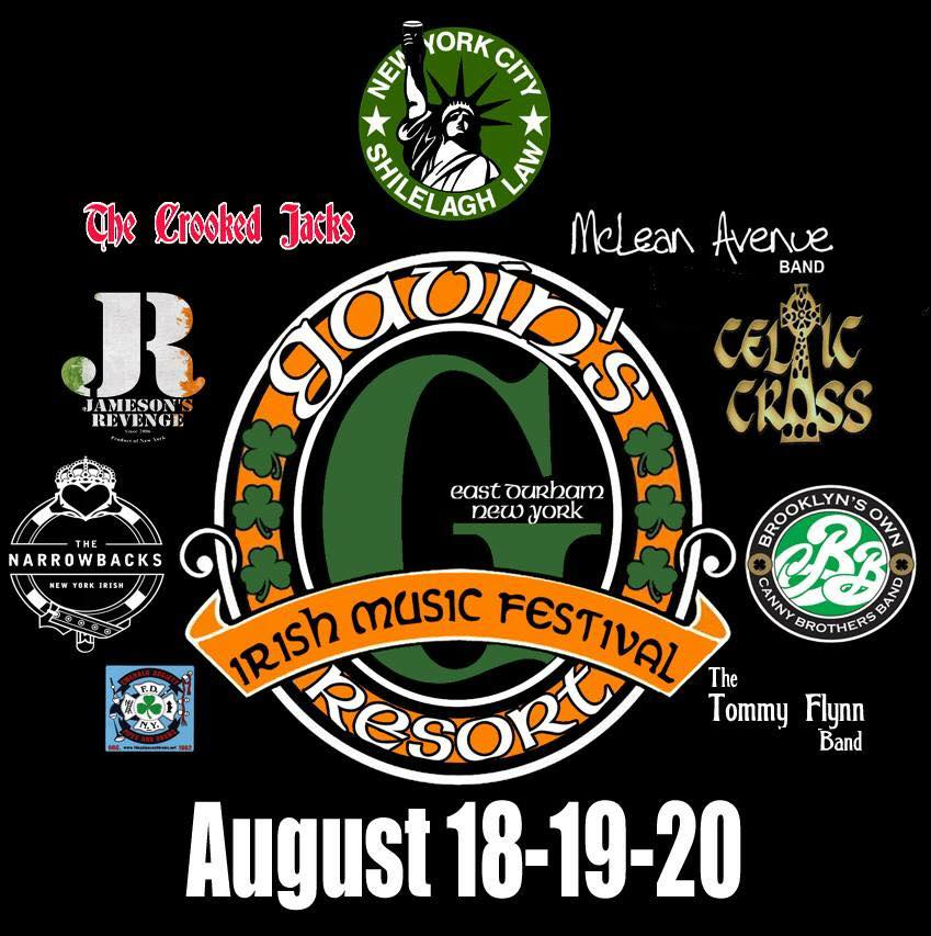 Gavins Irish Music Fest  with 10+Irish Acts