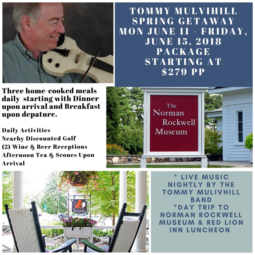 Tommy Mulvihill Spring Getaway