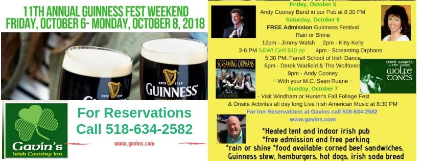 Guinness Fest Columbus Day Weekend