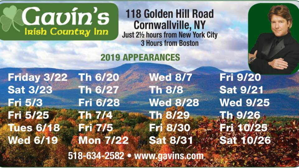 Andy Cooney at Gavin's!
