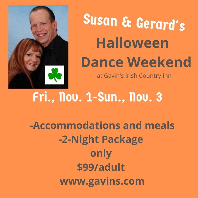 $99 Susan & Gerard's Halloween Weekend