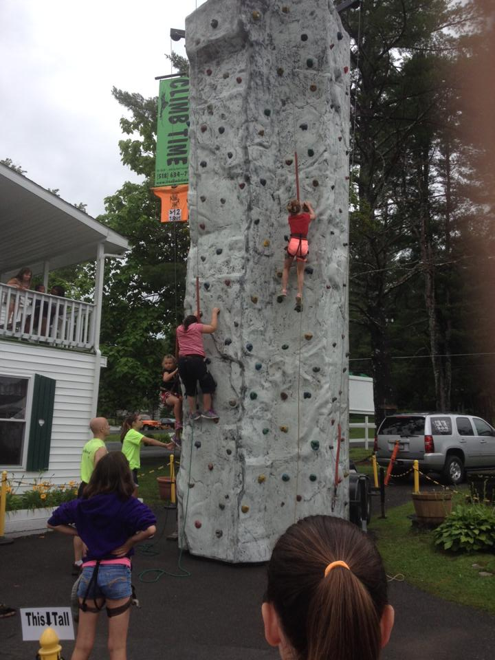 Rock Climbing Wall Night; Complimentary for all Inn Guests