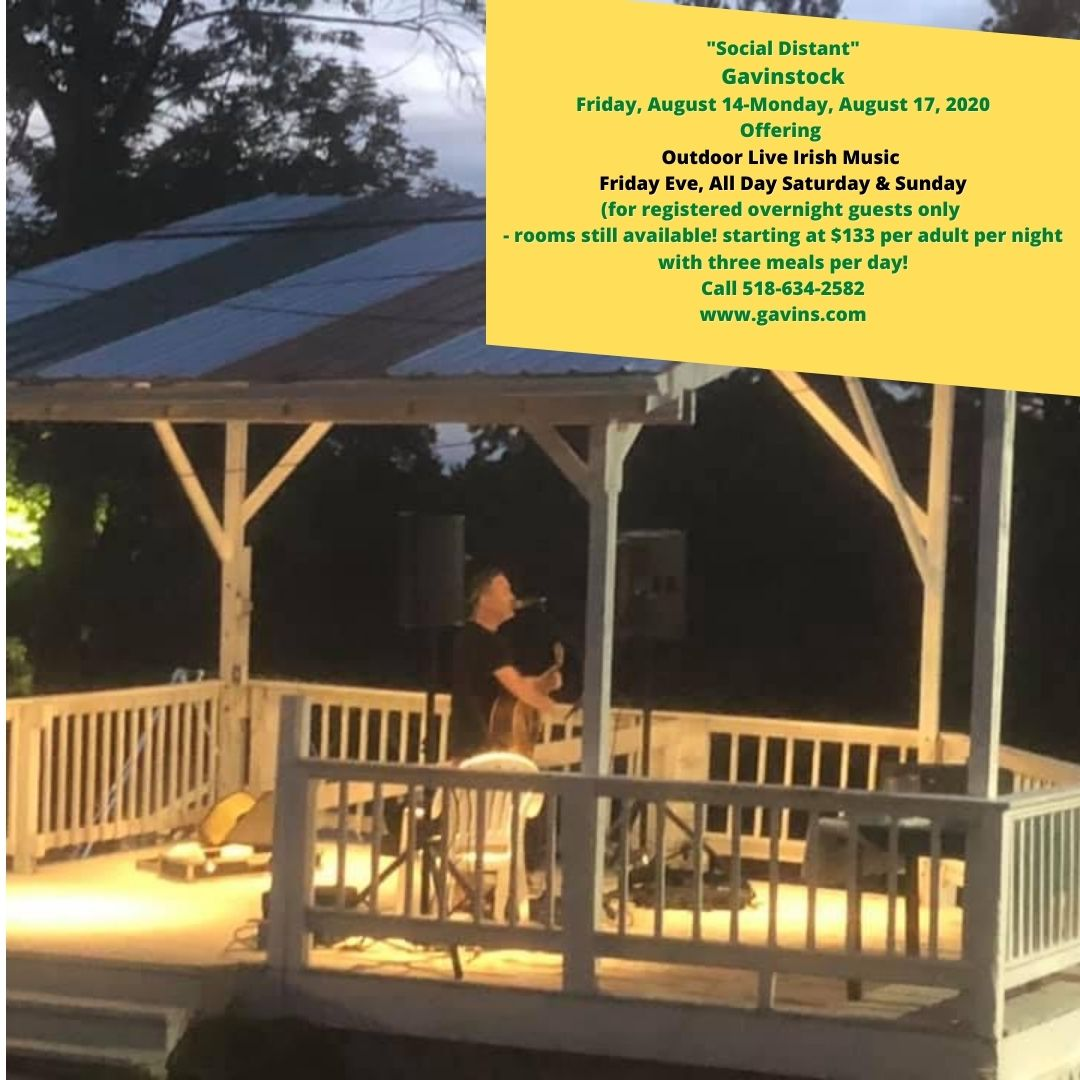 Gavinstock - Live Outdoor Music All Weekend....Rooms Available!