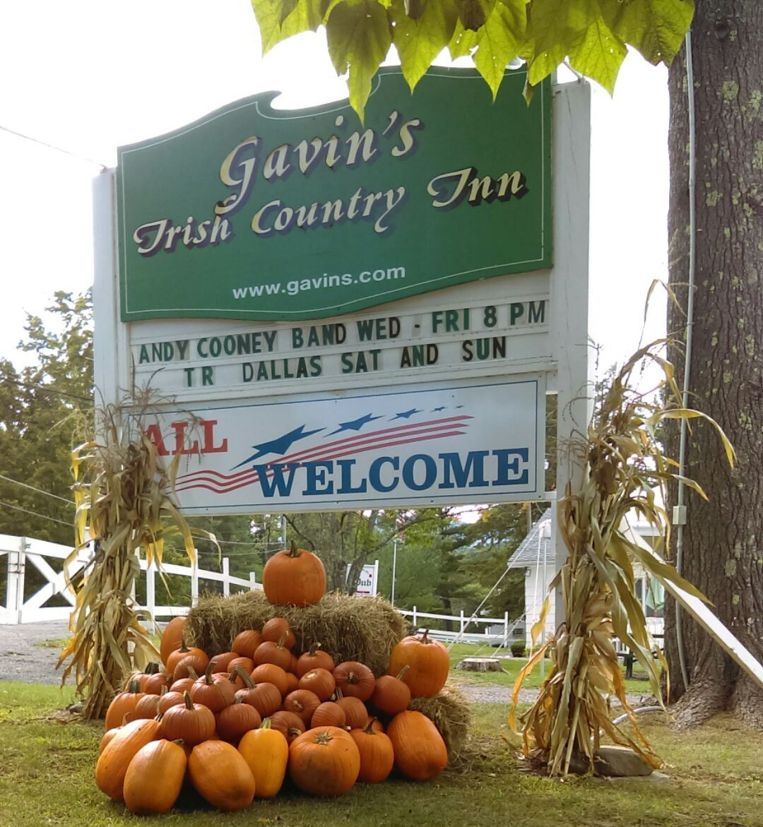 Columbus Day Weekend Getaway; for resv 518-634-2582 @ gavin's irish country inn