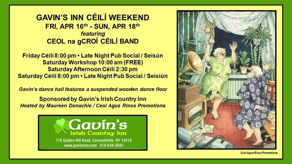 Spring Ceili & Trad Weekend
